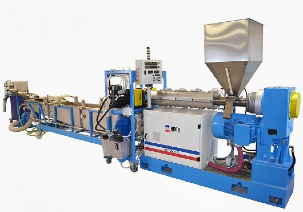 The future is in recycling - regranulation lines BOCOMATIC