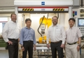 Highest precision - FRIMO supplies Scoring machine to Japan
