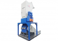Shredder and granulator intergrated and combinated machine from Avian