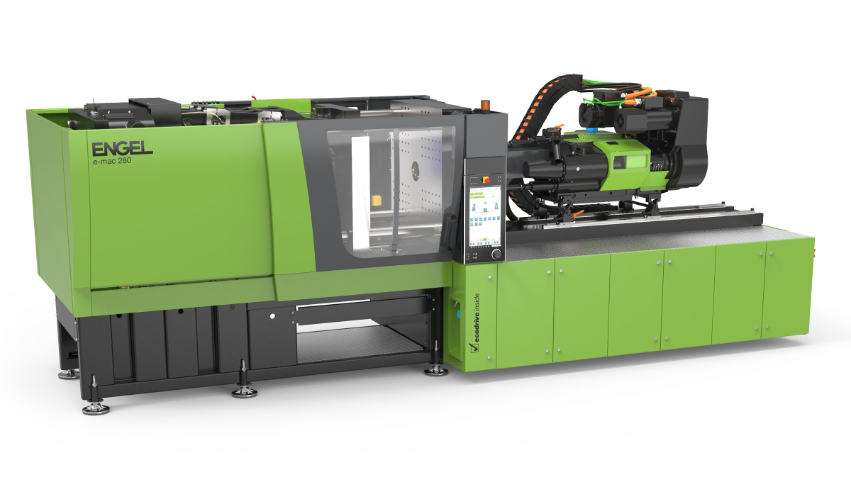 ENGEL all-electric injection moulding machines e-mac series