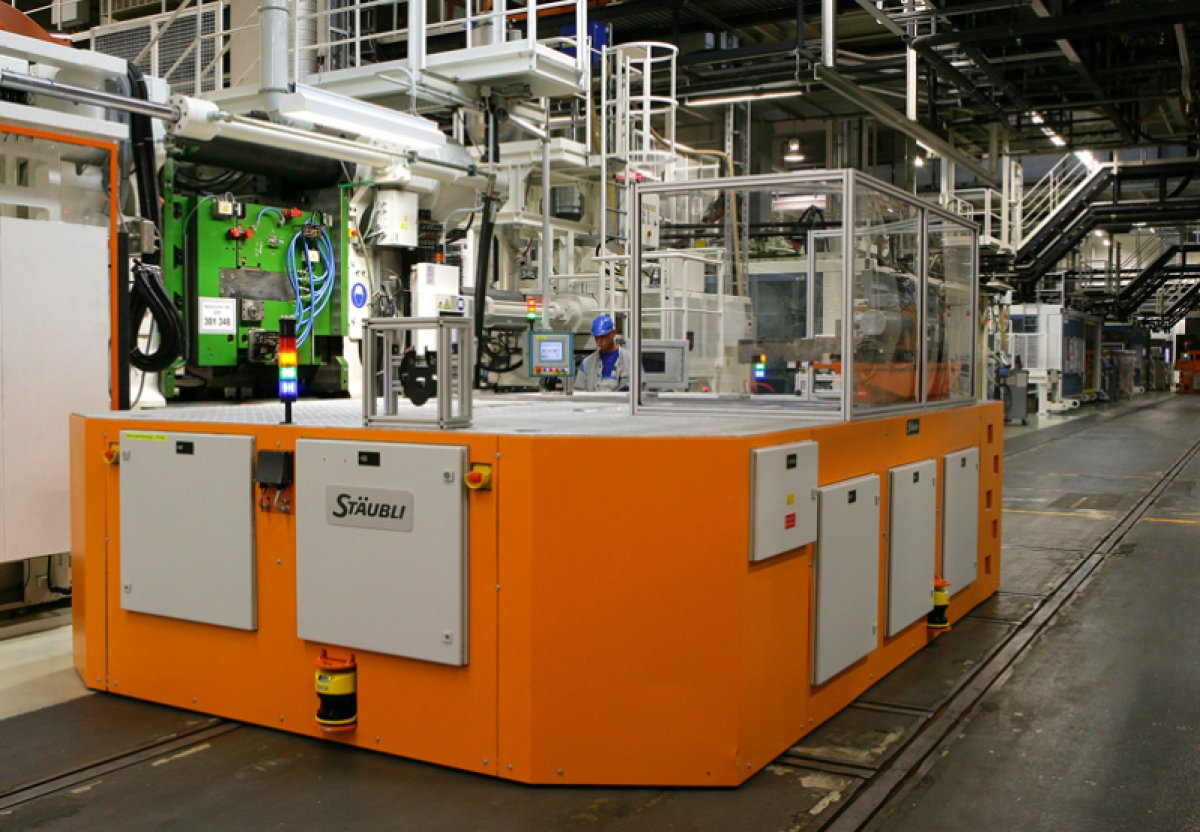 SMED - for easy and quick change injection molding molds