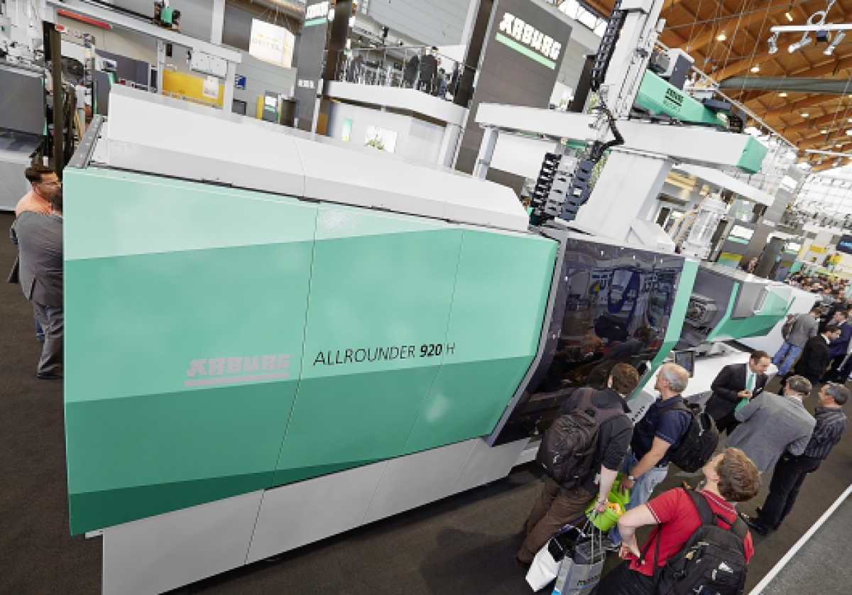 Arburg at the Fakuma 2017: Busy stand, great atmosphere and