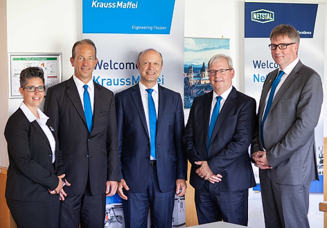 Wide selection of KraussMaffei technologies on Competence Forum