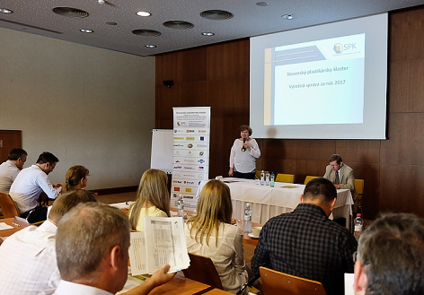 Slovak plastic cluster at the General Assembly discussed education, innovation and support