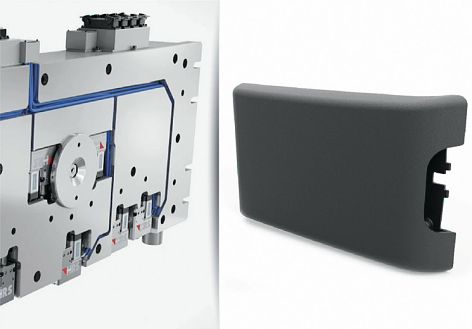 Servo-electric HRSflow hot runner systems support the large-series production of ultra-light center armrests