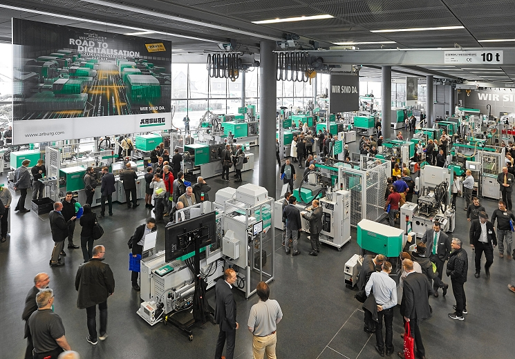 Technology Days 2019: Heading for the future with Arburg on the Road