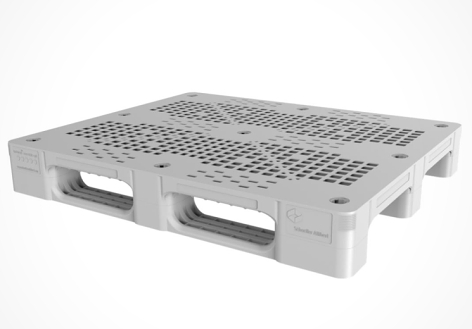 Lightweight, durable and really strong, this is Schoeller Allibert's new Bayopal plastic pallet
