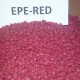 EPE regranulate red