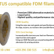 Filament for 3D printers Fortus