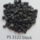 PS 3122 regrind, black