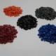 Regranulate LDPE colours